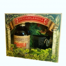 Don Papa Rum 40% 70cl + glas in giftset