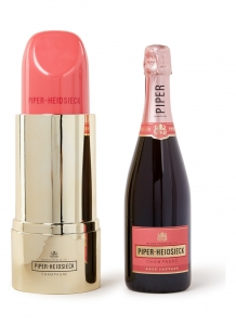 Champagne Piper Heidsieck Rosé Sauvage 75cl Lipstick Giftbox
