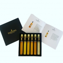 Scotch Whisky Tasting Collection 6 x tube 2.5cl in geschenkdoos
