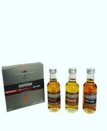 The Triple Distilled Auchentoshan Single Malt Scotch Whisky 3 x 5cl inclusief doosje